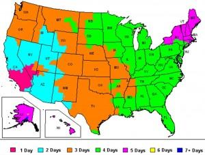 FedEx Ground Map