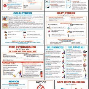 restaurant safety awareness poster