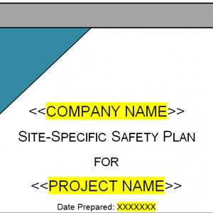 Site-Specific Safety Plan