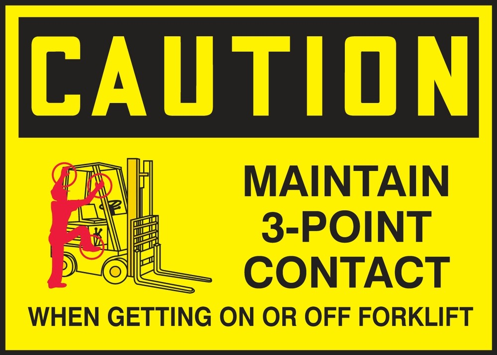 Forklift Safety Rules: Mount and Dismount Safely